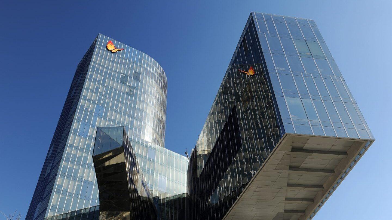 Sede Social de Gas Natural Fenosa en Barcelona.