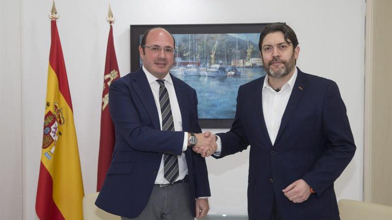 Pedro Antonio Sánchez y Miguel Sánchez.