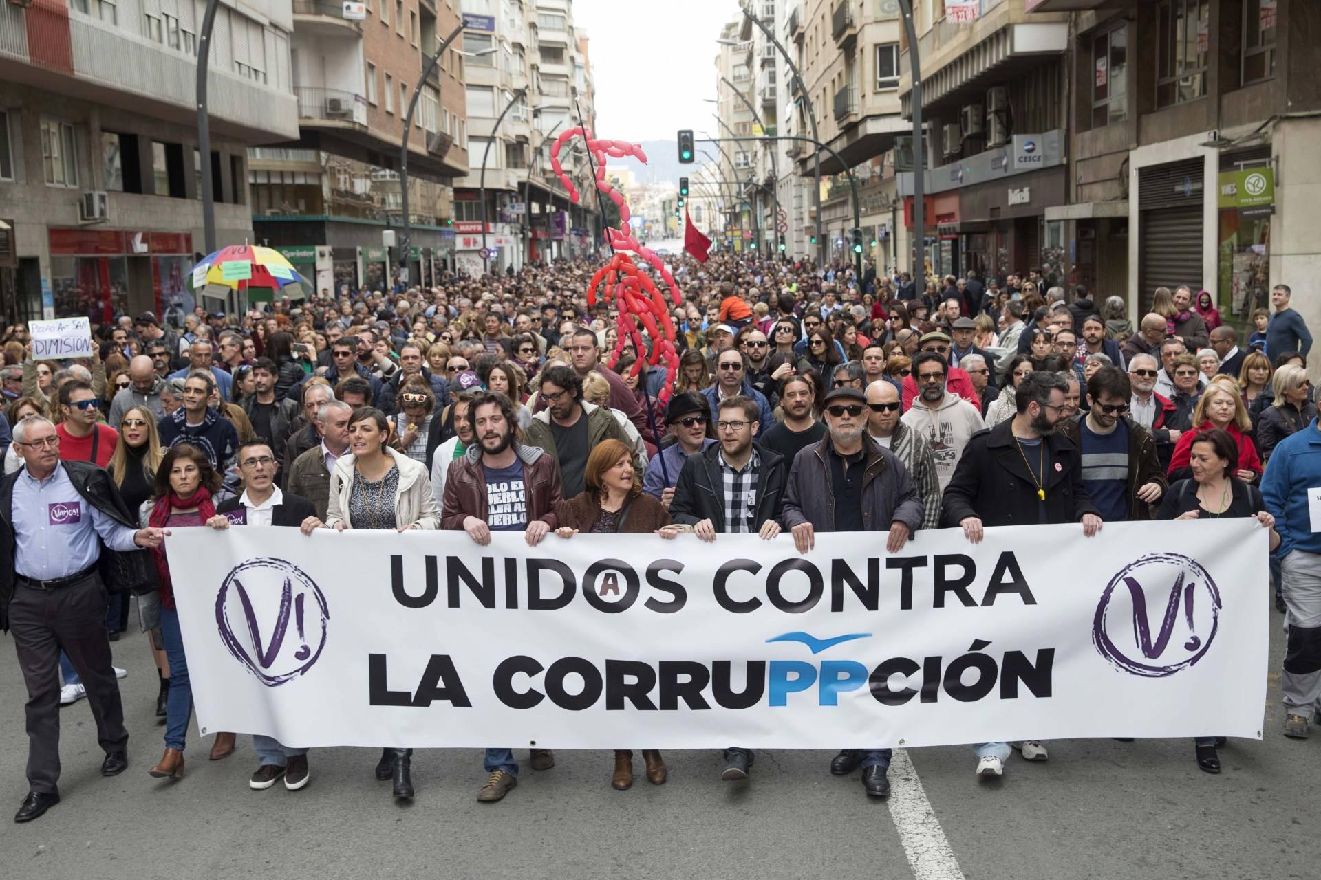 Manifestación en Murcia.