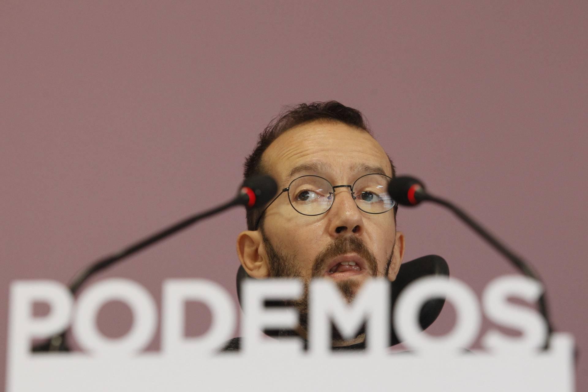 Pablo Echenique, seretario de Organización de Podemos.