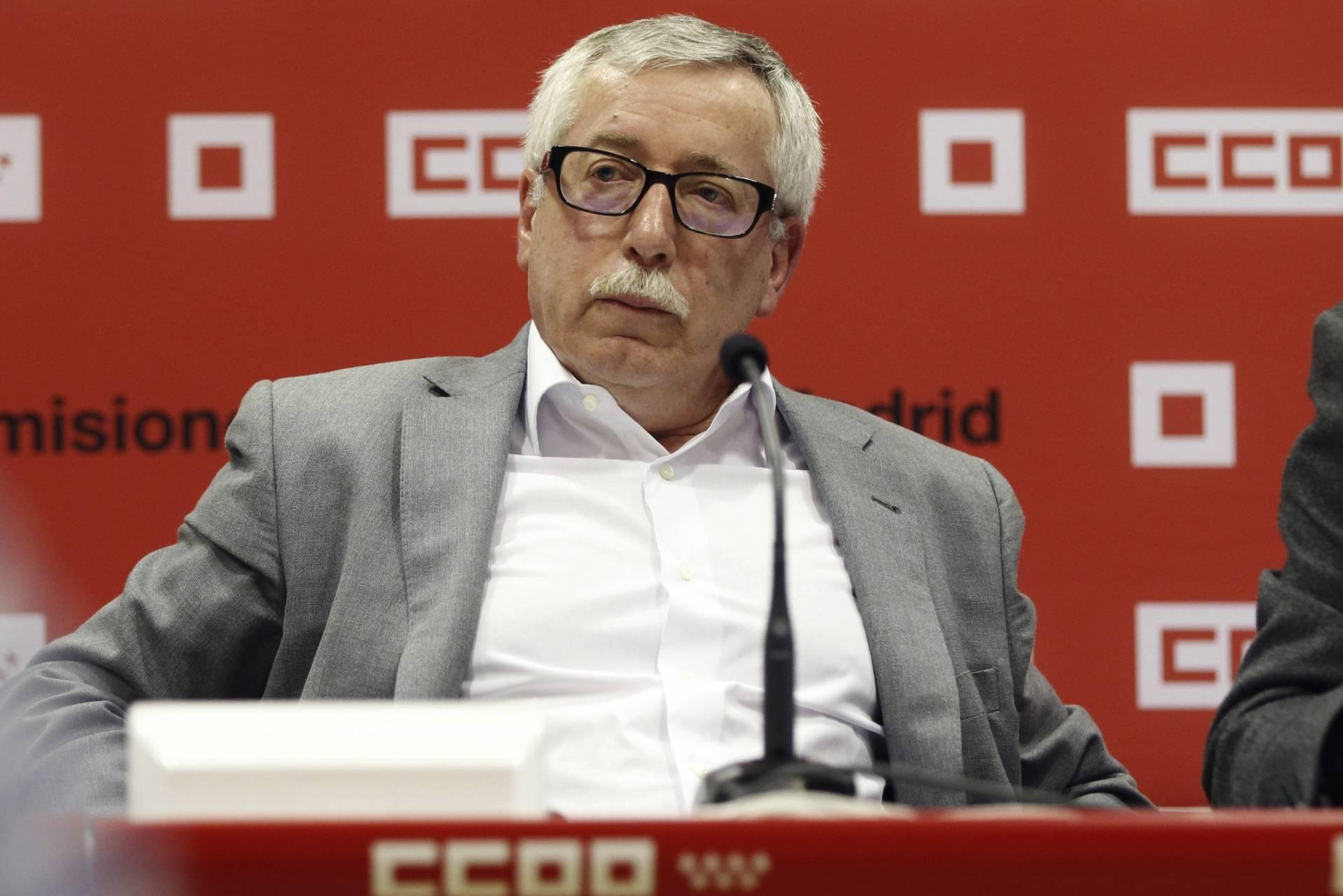 El secretario general de Comisiones Obreras, Ignacio Fernández Toxo.