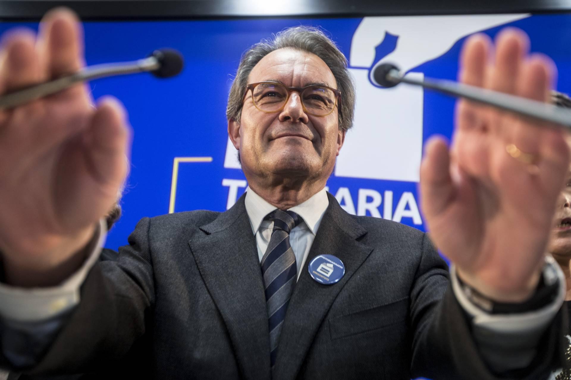 El ex president de la Generalitat de Cataluña Artur Mas.