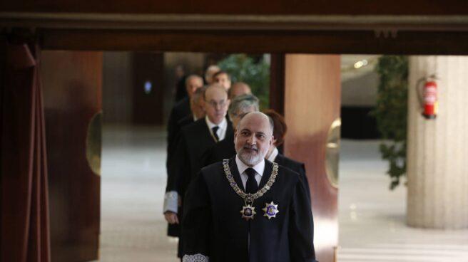 Francisco Pérez de los Cobos, este miércoles, a su llegada al acto.