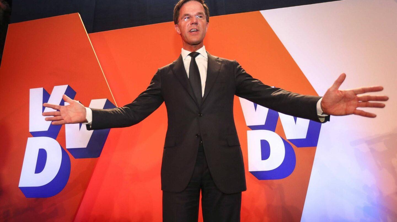 El primer ministro de Holanda, Mark Rutte