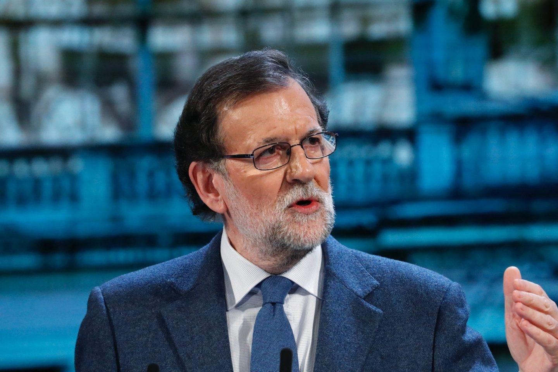 Mariano Rajoy, durante el congreso del PP de Madrid.