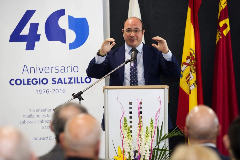 Pedro Antonio Sánchez, presidente de Murcia imputado en el caso Auditorio.