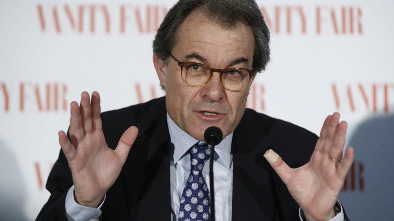 Artur Mas habla sobre el referéndum del 1-0.