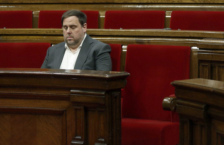 Oriol Junqueras ofrece incentivos fiscales a las empresas.