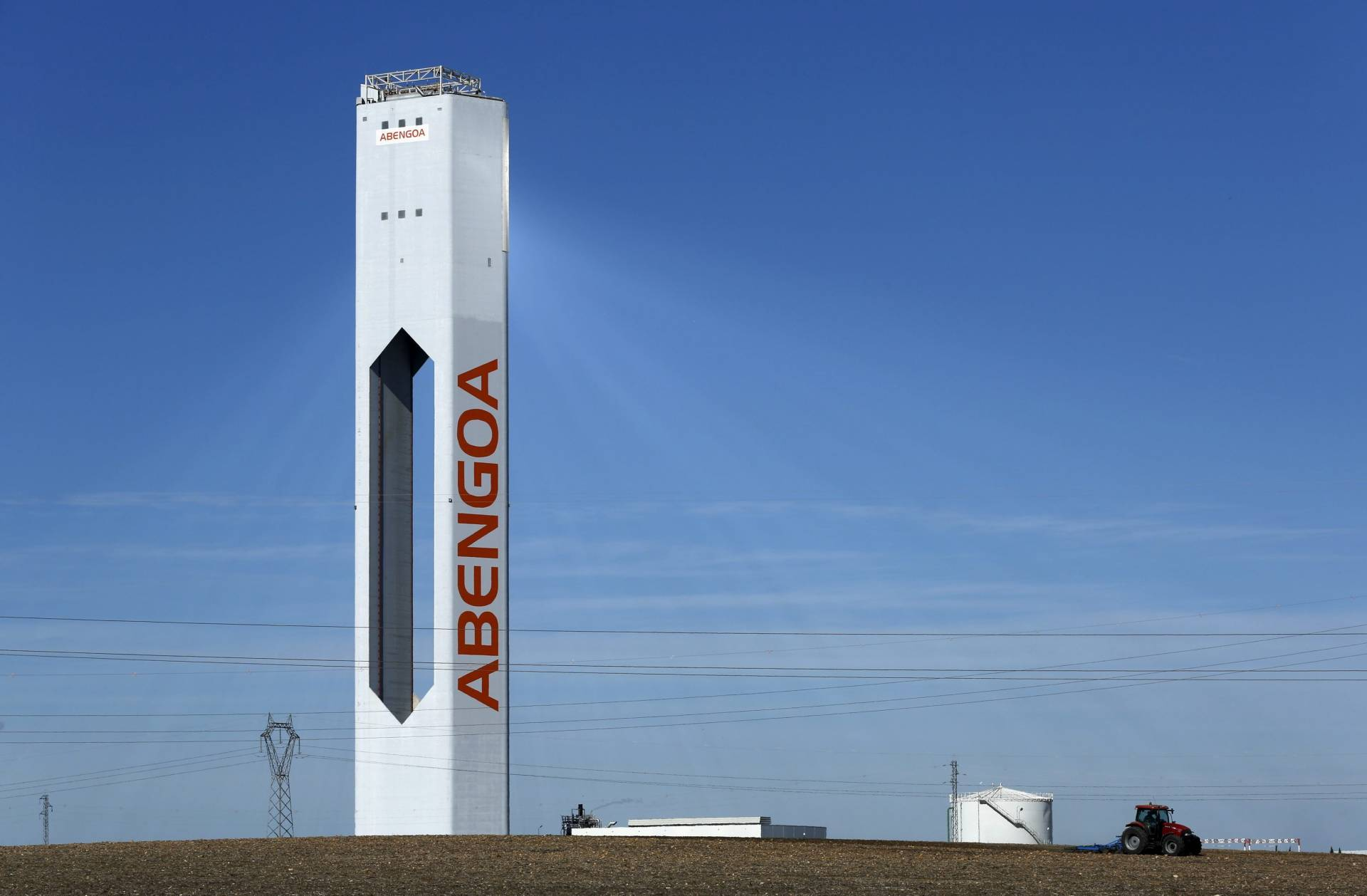Central termosolar de Abengoa.