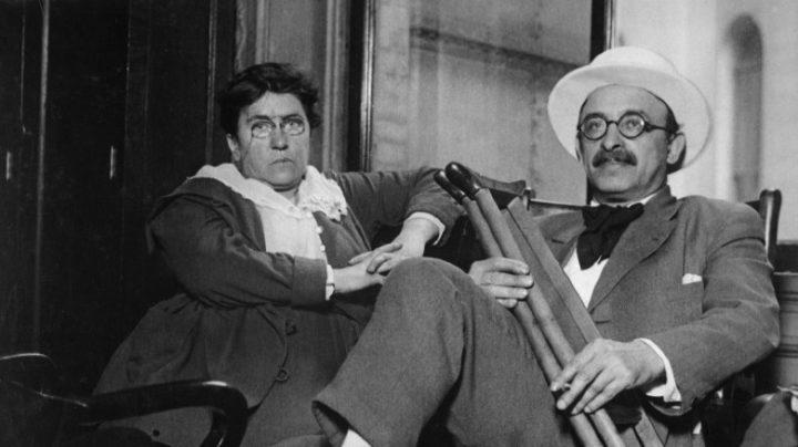 Emma Goldman y Alexander Berkman.