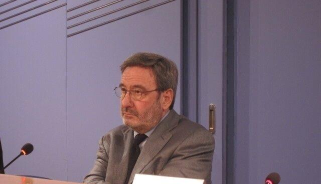 Narcís Serra, ex presidente de Catalunya Caixa.