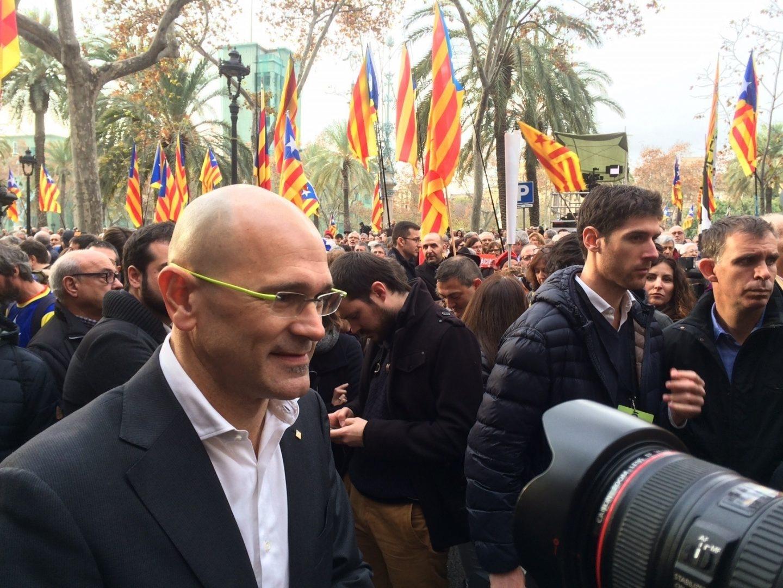 Raul Romeva, conseller de Exteriores.