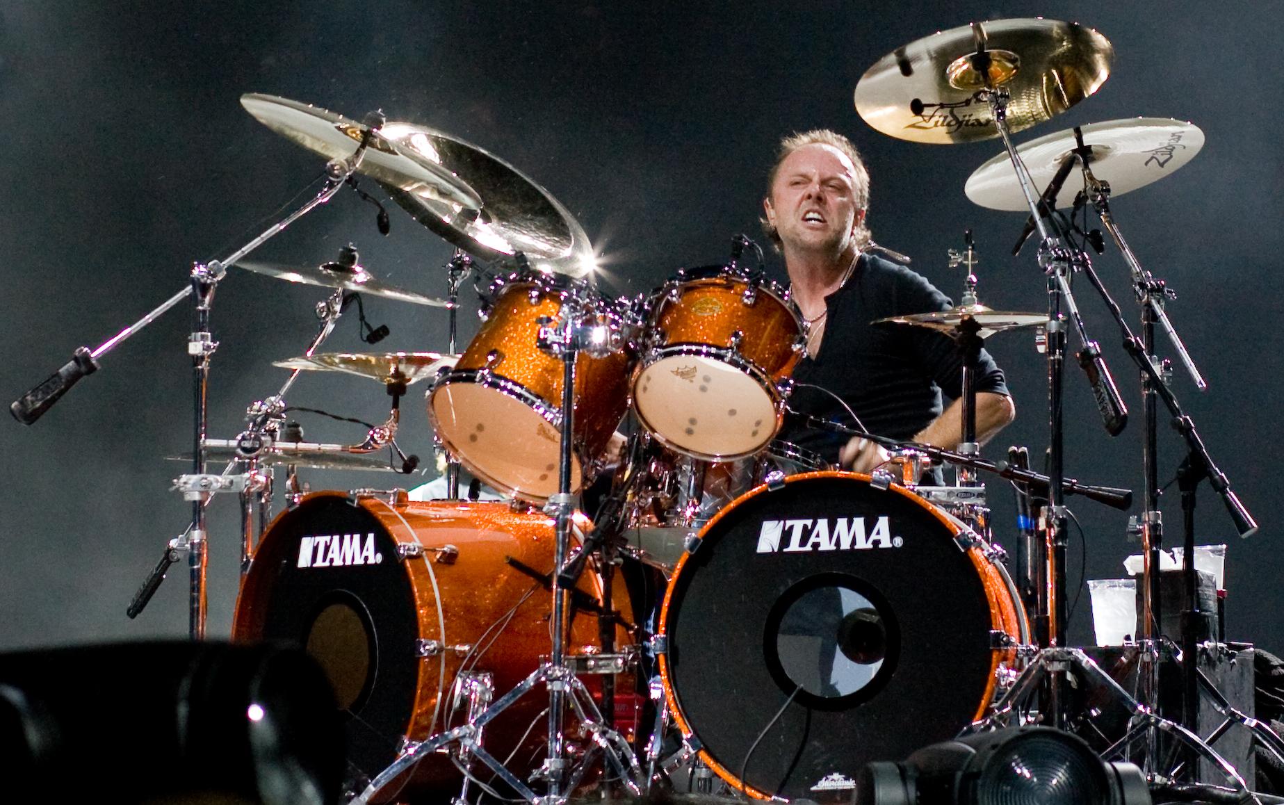 El batería de Metallica, Lars Ulrich.
