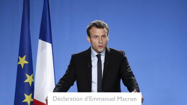 Emmanuel Macron, candidato centrista a la presidencia de la República de Francia.