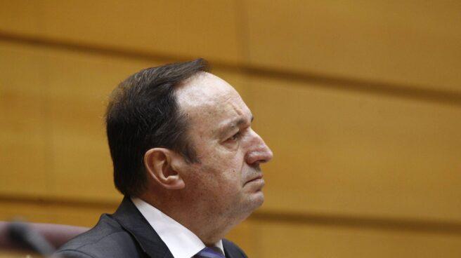 El vicepresidente del Senado, Pedro Sanz.