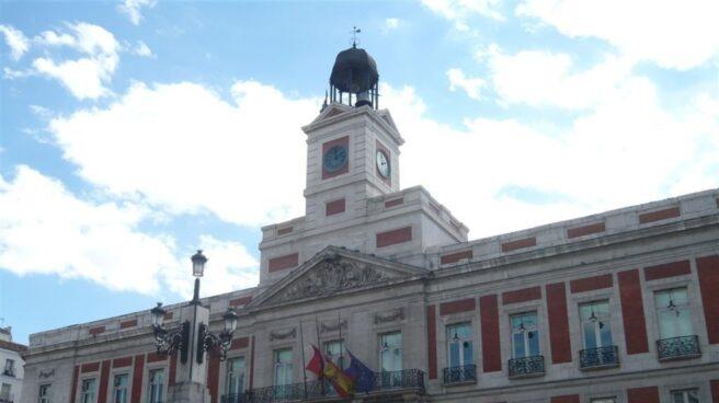 Sede del gobierno de la Comunidad de Madrid en la Real Casa de Correos.