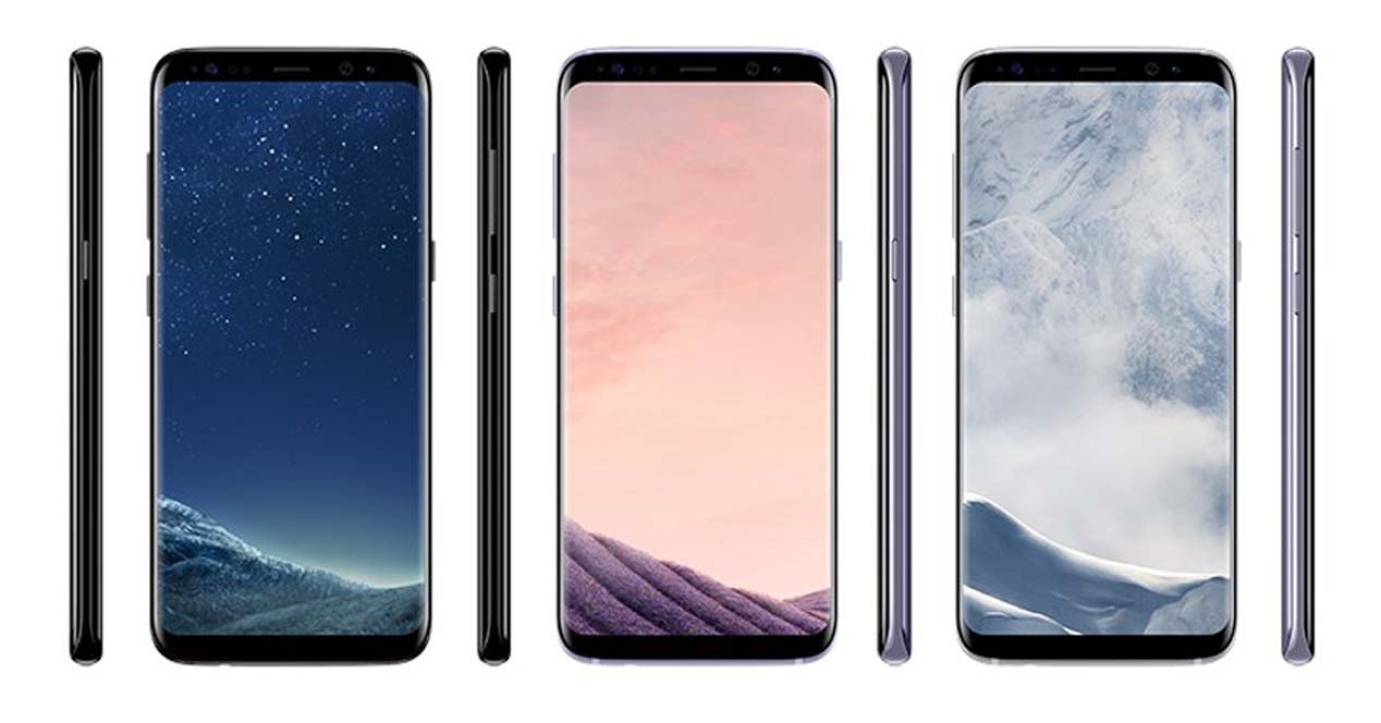 Imagen filtrada del Samsung Galaxy S8.