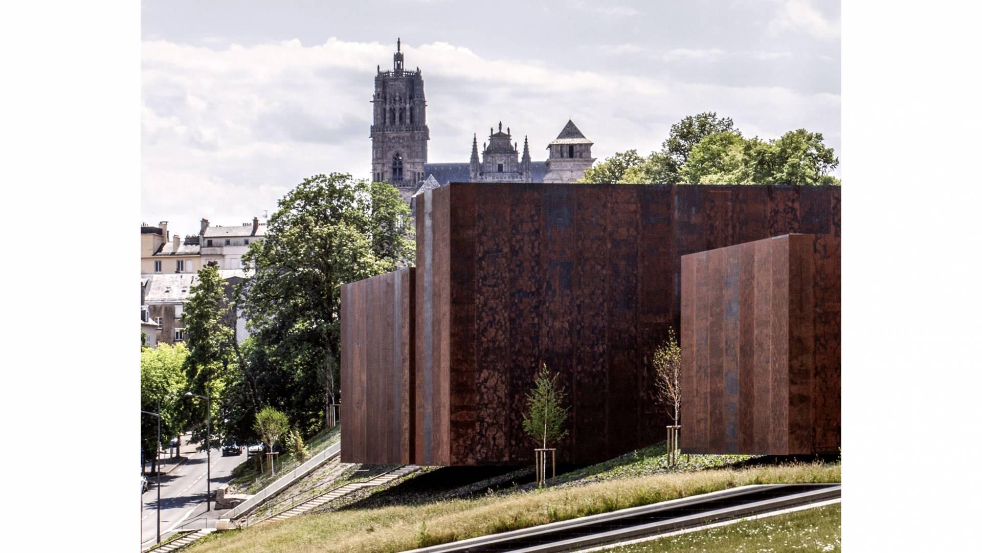 Soulages Museum en, Rodez, Francia, 2014.