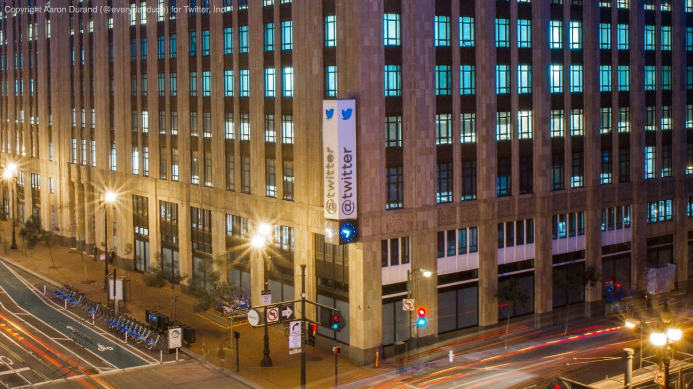 Sede de Twitter en San Francisco, Estados Unidos.