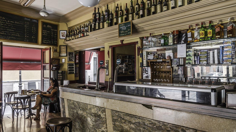 Desde 1909 se vendía vinos en este bar. Los tiempos en los que no había cervecerías porque lo que se bebía era vino. Foto: Javier Sánchez