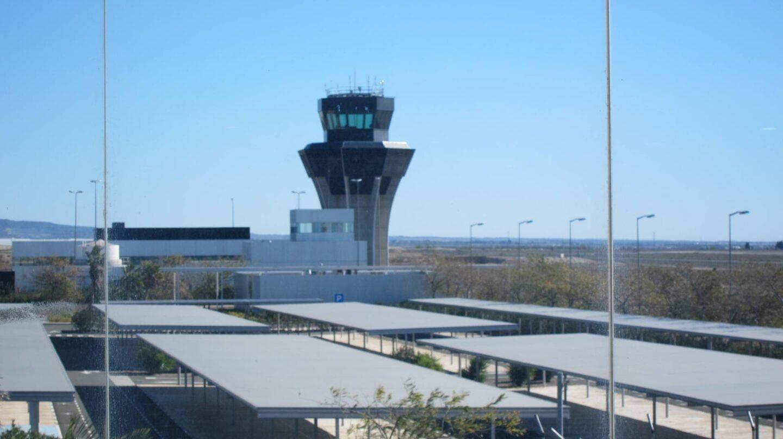 El aeropuerto de Corvera, en Murcia.