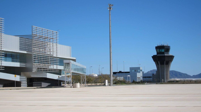 El aeropuerto de Corvera (Murcia).