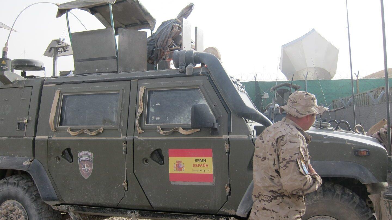 Militares españoles, durante una de las operaciones en el exterior.