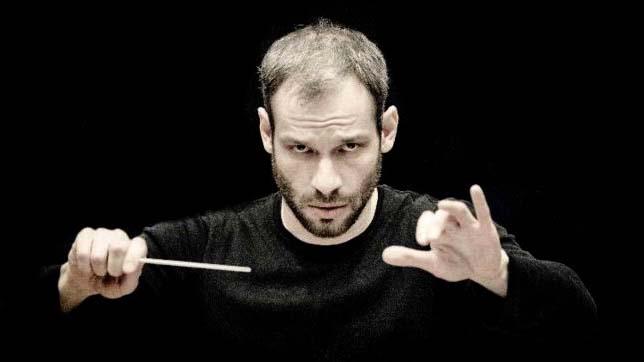 Musika-Música Dima Slobodeniouk es el director principal de la Orquesta Sinfónica de Lahti.