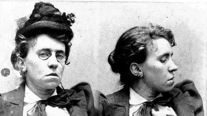 Emma Golman en 1878.