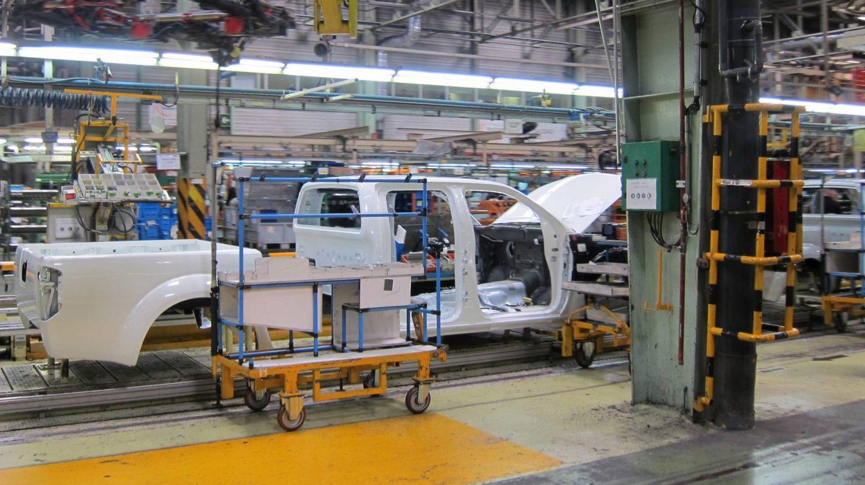 Fábrica de Nissan en Barcelona.