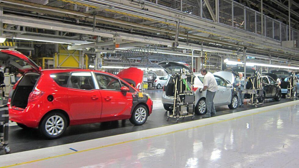 La factoría de Opel en Figueruelas (Zaragoza).
