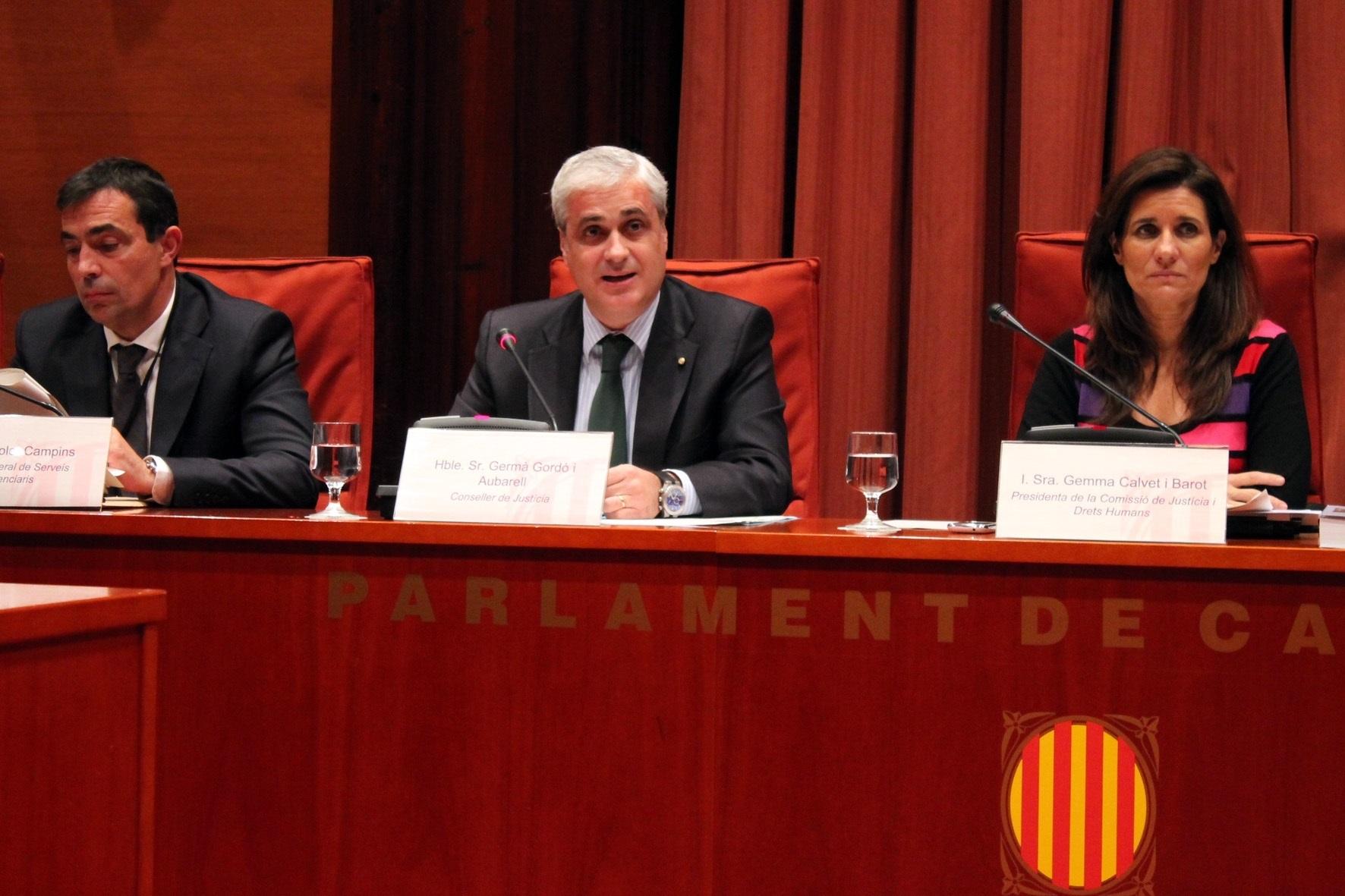 El ex conseller Germà Gordó.
