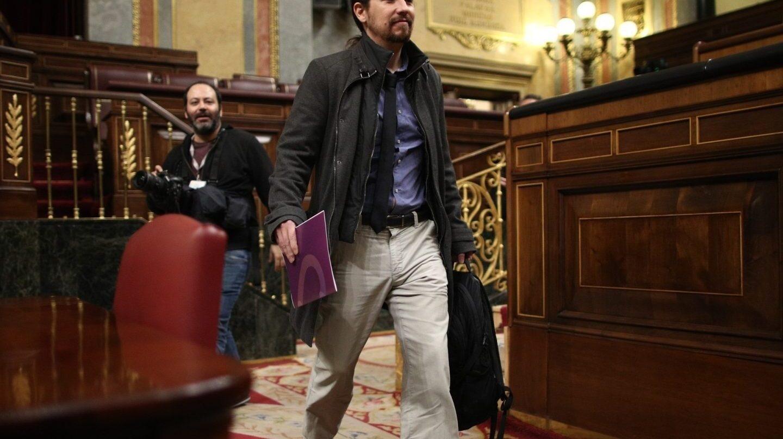Pablo Iglesias, líder de Podemos, estará hoy en la movilización de Berlín.