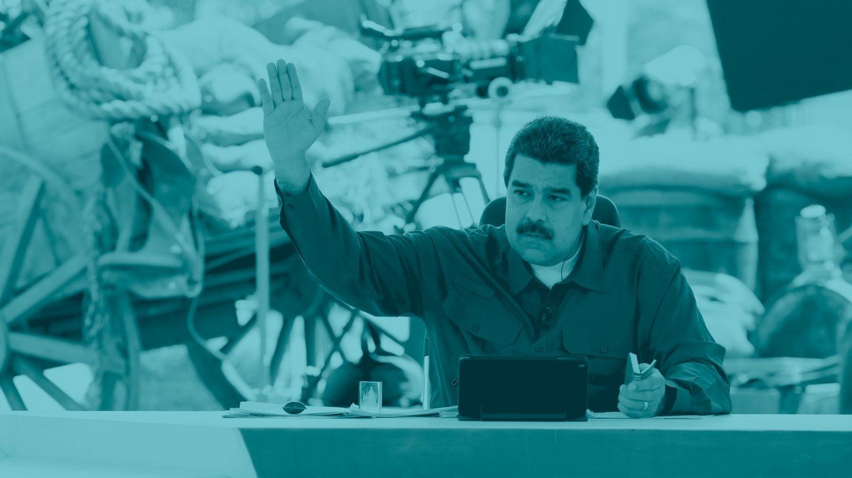 Nicolás Maduro, dirigente de Venezuela.