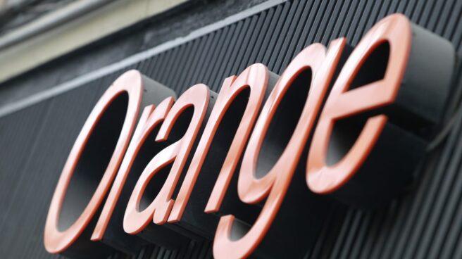 Logotipo de una tienda de Orange