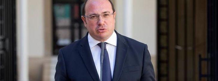 Pedro Antonio Sánchez, presidente del Ejecutivo de Murcia