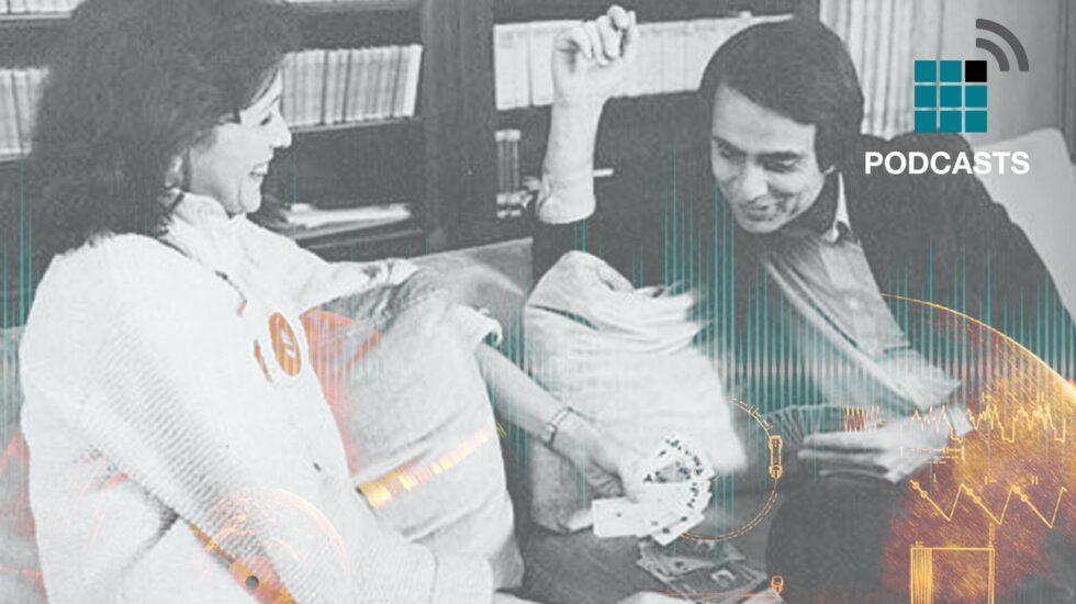 Ann Druyan y Carl Sagan