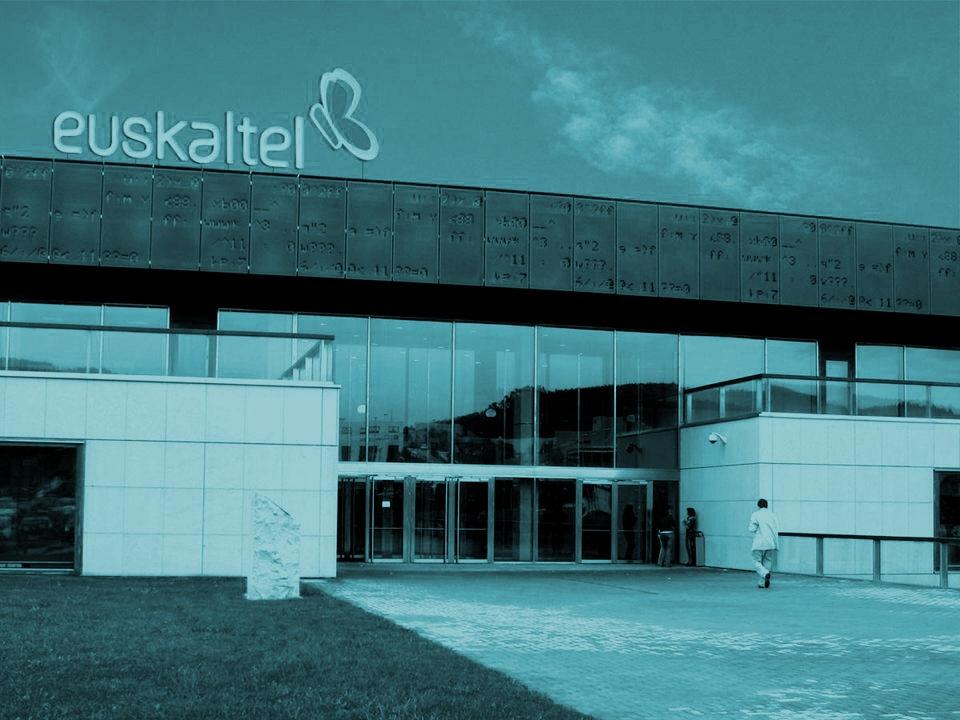 Sede del grupo de telecomunicaciones Euskaltel.
