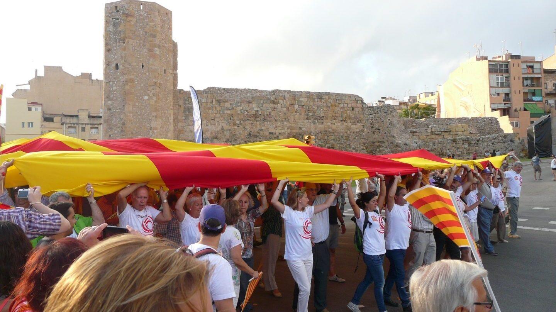 Acto de Societat Civil Catalana en Tarragona.