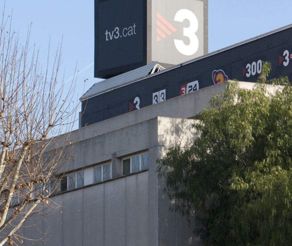 Sede de TV3 en Barcelona.