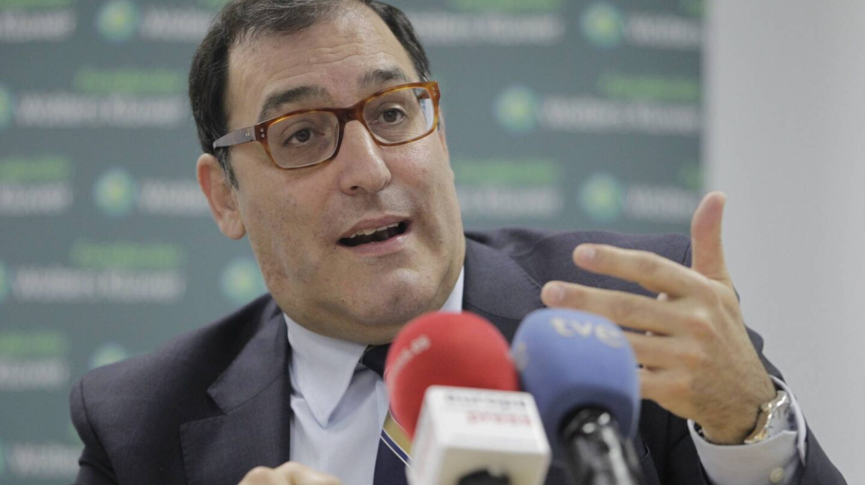 El juez de la Audiencia Nacional Eloy Velasco, en una conferencia.