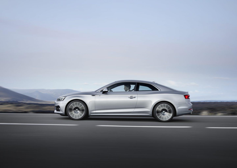 Con un Cx de 0,25, el Audi A5 Coupé presume de uno de los coeficientes aerodinámicos más favorables de su categoría.