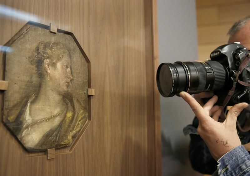 'Dama de perfil', de Velázquez.