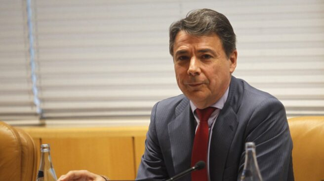 Ignacio González, el ex presidente de la Comunidad de Madrid, en una comparecencia.
