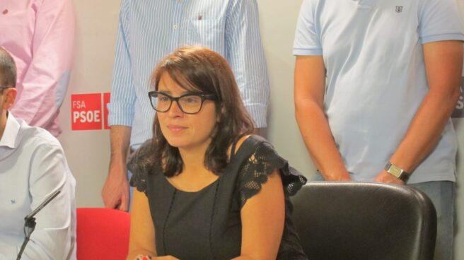 La diputada socialista en el Congreso, Adriana Lastra.