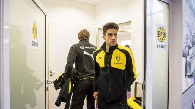 El jugador del Borussia Dortmund, Marc Bartra.