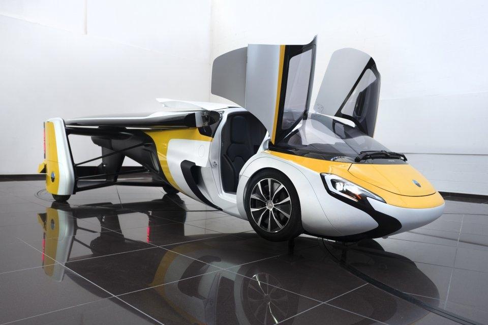 El coche volador de Aeromobil.