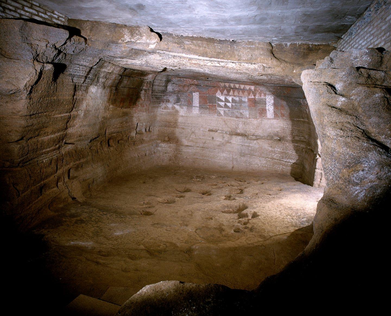 Cueva Pintada de Gáldar en Gran Canaria.