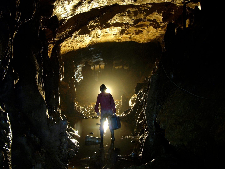 Cueva del Reguerillo en Patones, Madrid.