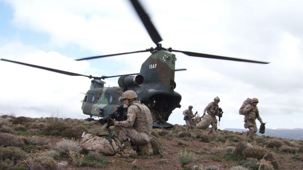 Unidades españolas en Afganistán